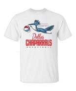 Dallas Chaparrals, Basketball, Retro, 1970's Gildan Ultra Cotton White T... - $16.99+