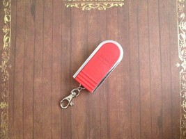 NEW! Zippo Portable Ashtray with Keychain, Red, Slide Lock Lid - $20.90