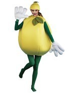 Lemon Adult Costume Smock Food One Size Halloween Party Unique Cheap PA9506 - £49.40 GBP