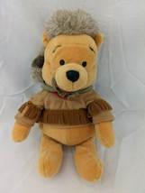 "Disney Winnie the Pooh Bean Plush 9"" Frontier Hat Clothes Stuffed Animal... - $11.66"