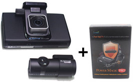 BlackVue DR750L-2CH 16GB+Power Magic Pro FullHD LCD Car Dashboard Camera NO WiFi image 1
