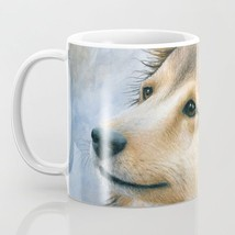 Coffee Mug Cup 11oz or 15oz Made in USA Dog 122 Sheltie Collie art L.Dumas - $19.99+
