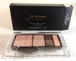 Cle de Peau Eye Color Quad Refill - 211 - .17 oz. - Boxed - $25.99