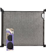Dreambaby - Retractable Gate with Spacers - Black - $95.99