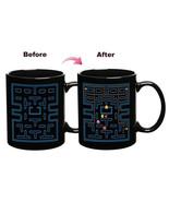 SPXU Magic Color Change Ceramic Coffee Cup Pacman Style - $26.95