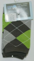 Rugged Butts LWWGYOSLA00 Boys Gray Awesome Argyle Leg Warmers One Size Fits Most image 2