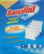 DampRid FG92 Moisture Absorber Easy-Fill System Refill, 4-10.5-Ounce Pac... - $14.25