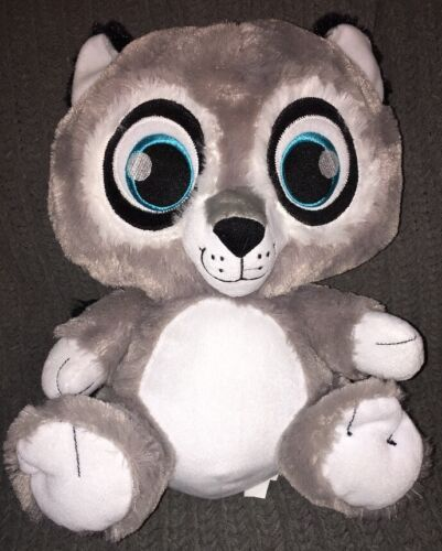 Primary image for Peek-A-Boo Toys Bright Eyes Plush Grey Raccoon 17 inch Soft Sewn Eyes Animal