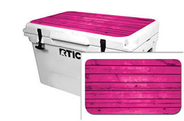 "RTIC Wrap ""Fits Old Mold"" 65qt Cooler 24mil Lid Kit Pink Wood - $36.95"