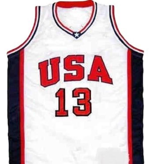 Antonio mc dyess team usa basketball jersey white   1