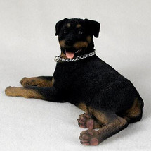 ROTTWEILER MY DOG  Figurine Statue Resin Hand Painted pet lovers gift - $26.50