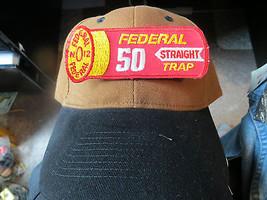 Federal 50 Gerade Falle Auszeichnungen Munition Mfg Co.12 Ga. Werbe Patc... - $18.99