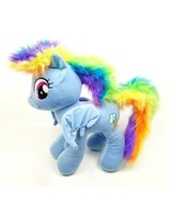"Rainbow Dash Plush Toy My Little Pony Cuddle Buddy Pillow 19"" Pegasus 20... - $14.68"