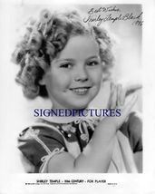 SHIRLEY TEMPLE SIGNED AUTOGRAPHED AUTOGRAPH 8X10 RP PHOTO VERY CUTE - $18.99