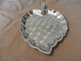 Vintage Silverplated Leaf Appetizer Serving Platter - $22.28