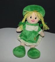 Zaks Irish Soft toy Collection blonde hair plush rag doll girl Dublin Ir... - $16.03