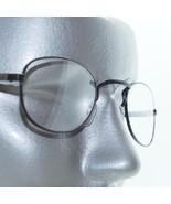Reading Glasses Matte Black Metal Petite Oval Square Bridge Frame +3.00 ... - $18.00