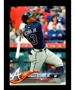 2018 TOPPS SERIES 2 BAT DOWN SSP #698 RONALD ACUNA JR. RC BRAVES PLEASE ... - $299.99