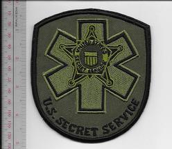 US Secret Service USSS Tactical Medic Qualified Agent Patch acu Vel hooks Cro  - $12.99