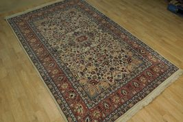 Ivory Wool Carpet 5 x 7 Fine Quality Reproduction Traditional Handmade Rug image 11