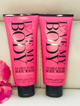 2 New Victoria's Secret Love My Body Wash Nearly Orchid & Bamboo 6.7 Oz - $27.62