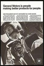 Jack Schweiboldb Breaks 2 World Records GM Allison Gas Turbines 1967 Photo Ad - $10.99