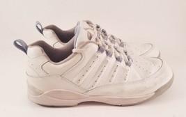 Women's Brunswick Whisper Bowling Shoes - White & Blue Size US 9 - $22.06