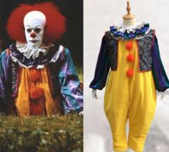 Stephen King's It Pennywise Fancy Suit Pennywise Cosplay Costume Halloween - £61.73 GBP