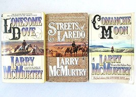 3 Book Lonesome Dove Series Set by Larry McMurtry - Lonesome Dove / Stre... - $79.95