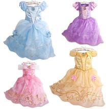2017 Hot NEW Disney princess Ann frozen elsa queen costume party dress G... - $19.99