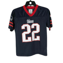 NFL Team Apparel Youth New England Patriots #22 Ridley Jersey Size Large - $14.85