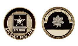 Challenge Coin Army Rank Lieutenant Colonel Coin - $19.02