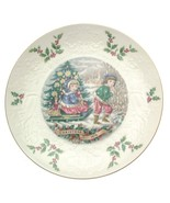 Royal Doulton Christmas 1979 plate Third of a Series All Things Bright - $33.85