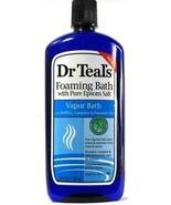 1 Ct Dr. Teals Pure Epsom Salt Menthol Essential Oils Vapor Foaming Bath... - $19.99