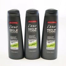 3 Pack DOVE MEN+CARE Fortifying Shampoo + Conditioners Minerals +Sage 12 Oz NEW - $34.63