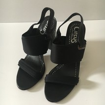 Circus by Sam Edelman Nixon Heels Black Sandals Size 6.5 M - $29.92