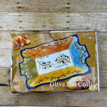 "Vintage Casa Elite Olive Dei Colli Serving Dish 12"" x 17""  - $27.99"