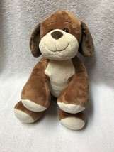 Build A Bear Brown Puppy Dog Stuffed Plush Toy - $16.82