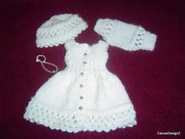 "Open Lace Miniature Pattern Little Darling Effner 13"" Dolls by CarussDes... - $10.00"