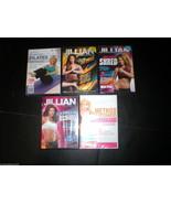New DVD 5 Lot Yoga Pilates Shred Method Jillian Michaels Tracy Anderson ... - $28.00