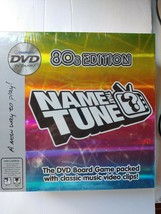 New Imagination Name That Tune 80s Edition DVD Board Game 2005. A2 - $12.86