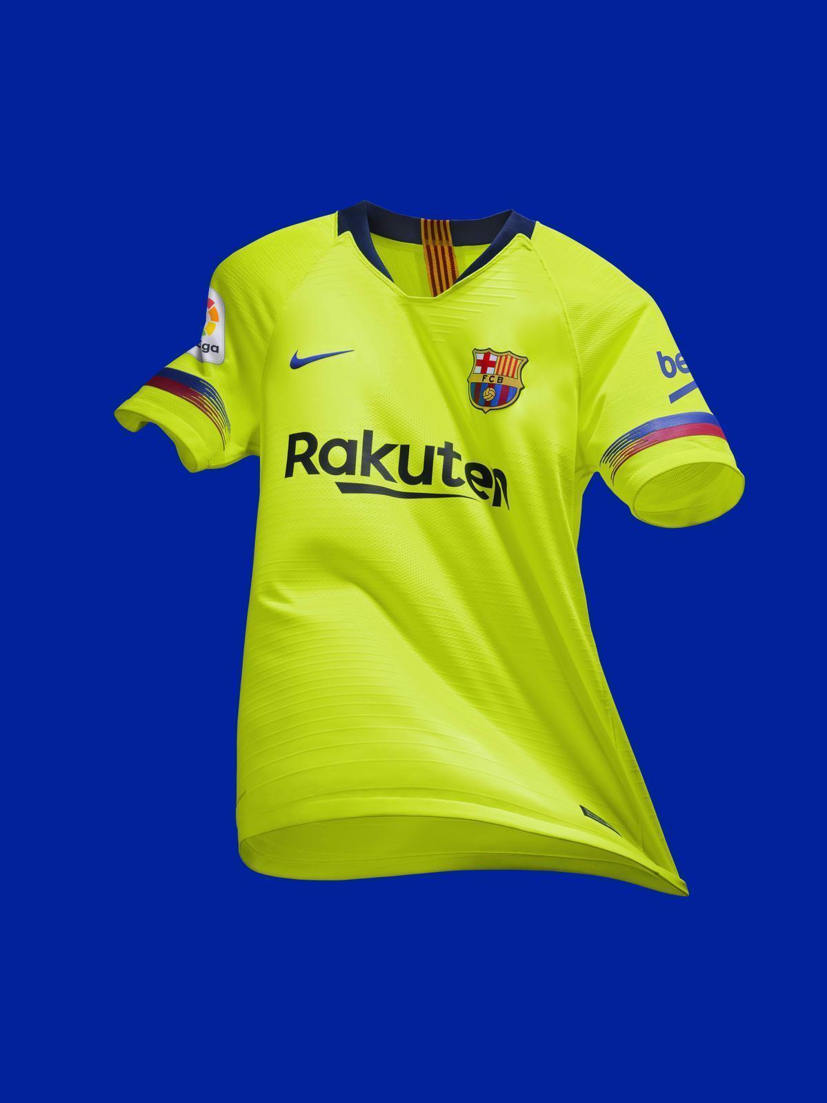 4ded2d5e983 NIKE LUIS SUAREZ FC BARCELONA AUTHENTIC VAPOR MATCH AWAY JERSEY 2018/19.