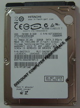 "NEW 320GB HTS545032B9A300 Hitachi SATA II 2.5"" 9.5MM hard drive Free USA Ship"