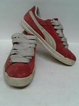 Vintage Breakdancing Hip hop  Puma Roma Suede Mens Red Suede Sneakers Sh... - $29.70