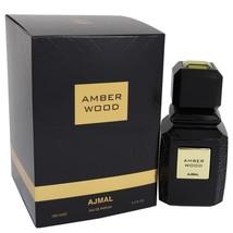 Ajmal Amber Wood Eau De Parfum Spray (unisex) 3.4 Oz For Women  - $93.13