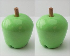 Set of 2 Green Apples Perfect for 18 Inch American Girl Dolls - $9.99