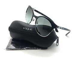 aa0e1a7456 Vogue Black Sunglasses VO 4006 S 352 11 2N 53 mm Designer Demo Lenses -   38.77