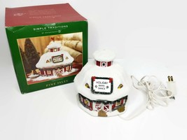 Department 56 Pine Isles Holiday Barn Dance Christmas Village House  - $49.49
