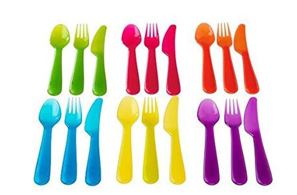 Ikea 36-piece Dinnerware Set, Assorted Colors KALAS 36 Pcs Beautiful Home Decor