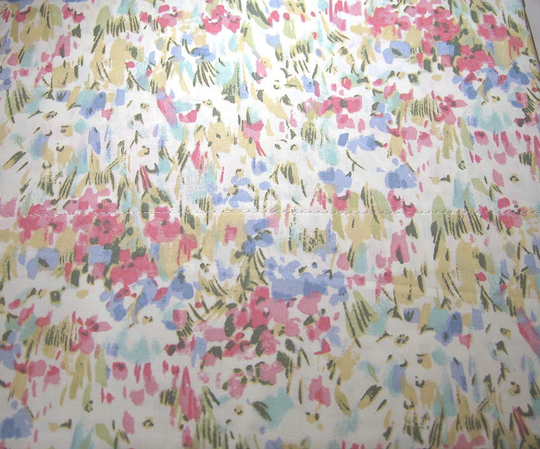 Ralph Lauren Pastel Impressionist Watercolor Floral Sheet Set  Queen